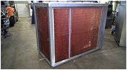 Locally manufactured condensing coils
