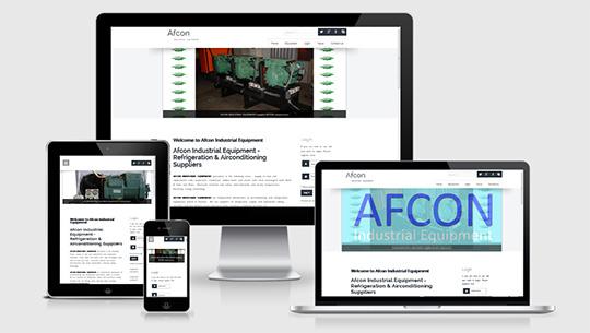 Afcons new website