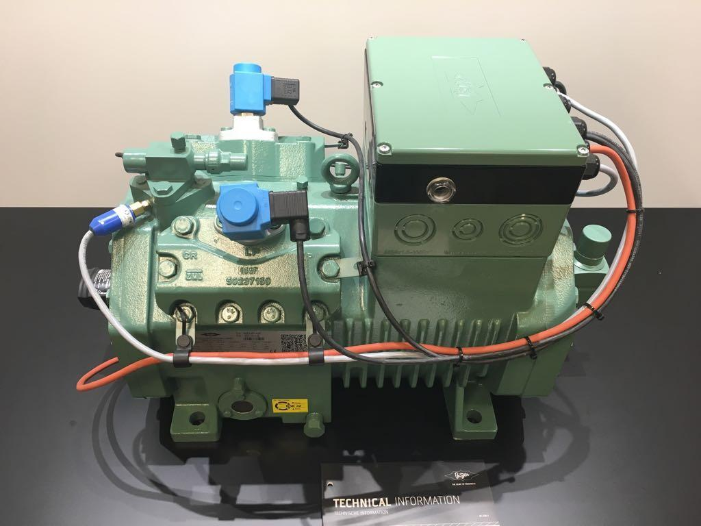 Bitzer compressor with IQ module