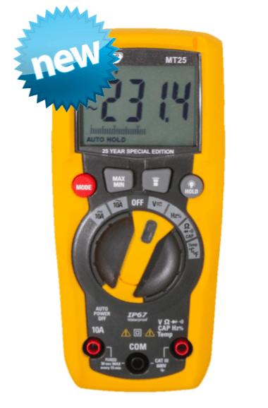 MT25 AC Voltage & Current Data Logger Major Tech
