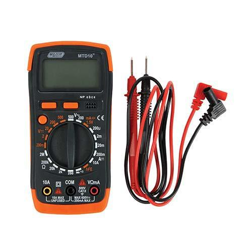 MTD10 Compact Digital Multimeter Major Tech