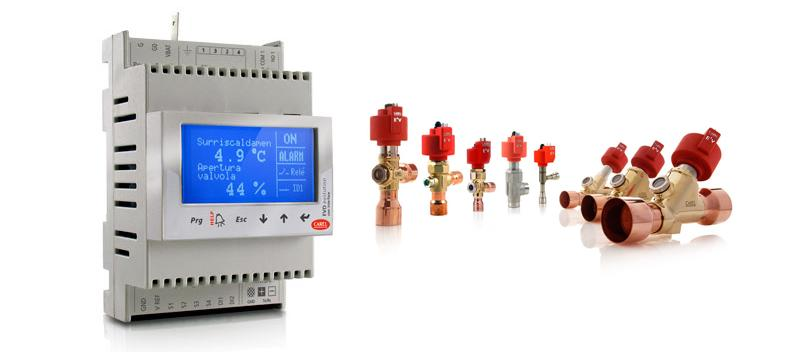 CAREL: Electronic expansion valves and driver unit