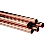 HARD DRAWN COPPER TUBING 1 1/8 (28.58mm) - Medical Grade