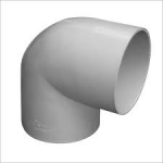 PVC ELBOW 40mm 90deg WHITE