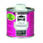 PVC GLUE - TANGIT - 500ml TIN with BRUSH